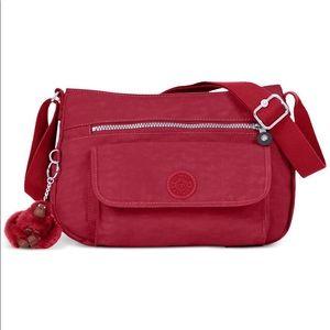 Kipling Syro Cross Body Bag Dark Red
